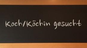 Koch/Köchin oder Küchenhilfe gesucht